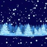 圣诞节eps10例证明信片向量 免版税库存图片