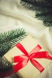 圣诞节eps10例证明信片向量 Xmas礼物 免版税库存图片