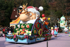 圣诞节everland游行 免版税库存图片