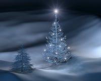 圣诞节iii结构树 免版税图库摄影