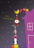 圣诞节indd存在 免版税库存图片