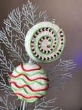 圣诞节lollypop装饰 免版税库存照片