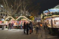 圣诞节markt在汉诺威 图库摄影