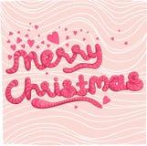 圣诞节mery 免版税库存图片