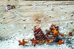 圣诞节Noel背景 免版税库存图片