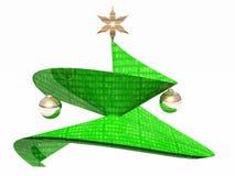 圣诞节Tree.â关闭圣诞树 免版税图库摄影