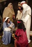 圣诞节wisemen 库存图片