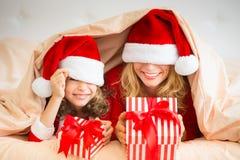 圣诞节Xmas家庭假日冬天 库存照片