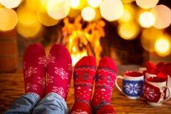 圣诞节Xmas家庭假日冬天 免版税图库摄影