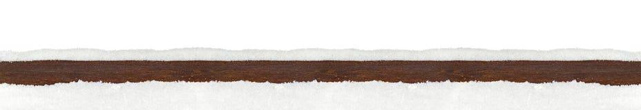 圣诞节xmas背景被隔绝的木雪板条 免版税库存照片