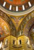 圣路易大教堂马赛克和圆顶 图库摄影