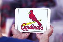 圣路易斯主教棒球队商标 免版税库存照片