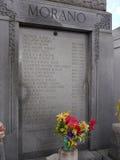 圣路易斯公墓#1,其中一座上面地面公墓在新奥尔良路易斯安那美国 免版税库存图片