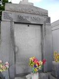圣路易斯公墓#1,其中一座上面地面公墓在新奥尔良路易斯安那美国 免版税库存照片