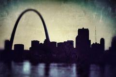 圣路易斯地平线 库存照片