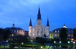 圣路易斯大教堂 库存照片