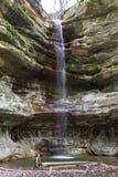圣路易斯峡谷瀑布 图库摄影