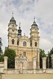 圣路易斯教会在Wlodawa 波兰 免版税库存图片