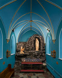 圣路易斯波特兰天主教 免版税库存图片