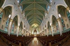 圣路易斯波特兰天主教 库存照片