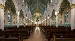 圣路易斯波特兰天主教 库存图片