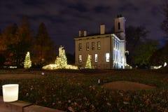 圣路易斯,密苏里,美国- 2017年11月22日:MoBots庭院焕发 免版税库存照片
