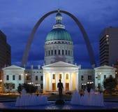 圣路易斯-密苏里-美利坚合众国 库存图片