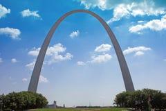 圣路易曲拱 库存图片