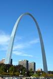 圣路易曲拱 免版税图库摄影