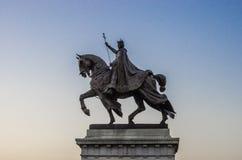 圣路易雕象  免版税库存照片