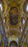 圣路易dei Francesi,罗马,意大利 免版税库存图片