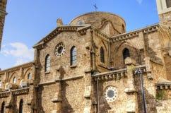 圣路易Des Capucins教会 库存照片