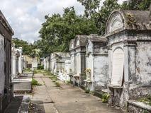 圣路易La Fayette公墓No1的墓地 免版税库存图片