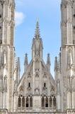 圣迈克尔和圣Gudula,布鲁塞尔大教堂  免版税库存图片