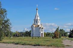 圣迈克尔在Yuzhnoye高速公路街道上的天使` s教堂 陶里亚蒂 俄国 库存图片