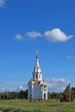 圣迈克尔在Yuzhnoye高速公路街道上的天使` s教堂 陶里亚蒂 俄国 免版税库存图片