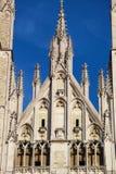 圣迈克尔大教堂在布鲁塞尔 免版税库存照片