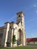 圣迈克尔大教堂在阿尔巴尤利亚 库存照片