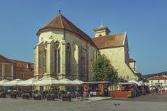 圣迈克尔大教堂,阿尔巴尤利亚,罗马尼亚 免版税库存照片