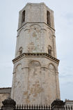 圣迈克尔天使圣所八角型塔  免版税图库摄影