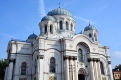 圣迈克尔天使的教会 免版税库存照片