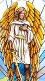 圣迈克尔天使 图库摄影