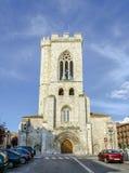 圣迈克尔教会在帕伦西亚 免版税库存图片