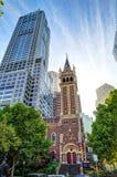 圣迈克尔教会墨尔本 免版税库存照片