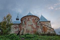圣迈克尔教会天使在乌克兰 库存图片
