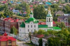 圣迈克尔教会天使 Tobolsk 免版税库存照片