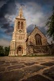圣迈克尔教区教堂 免版税库存照片