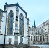 圣迈克尔教堂和圣伊丽莎白大教堂(科希策, Sl 图库摄影