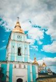 圣迈克尔的修道院在基辅 库存照片