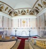 圣迈克尔的城堡在圣彼德堡 免版税库存照片